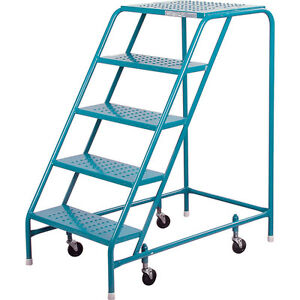 FIVE Step Rolling ladders (ON SPECIAL)