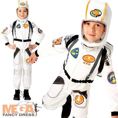Astronaut Kids Fancy Dress Space Man Suit NASA Uniform Boys Girls Childs Costume](Girls Astronaut Costume)