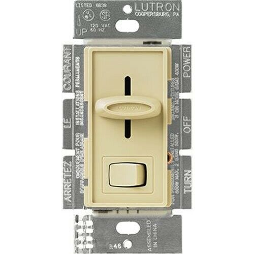 Lutron Skylark Single-Pole Preset Slide Dimmer Switch