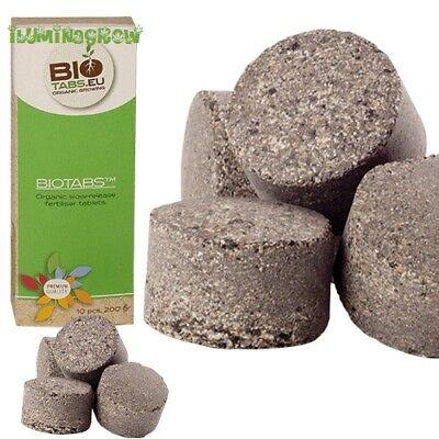 BioTabs 10 Tabletas BioTabs Para Tierra Y Coco Abono Organico Bio Tabs