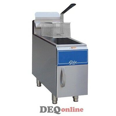 Globe Gf15g Or Gf15pg Countertop 15 Lb Fryer
