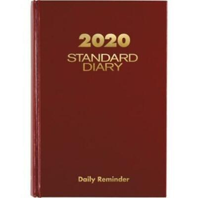 At-a-glance 2014 Standard Diary Daily Reminder Red 6 X 8.75 X 1 Inches