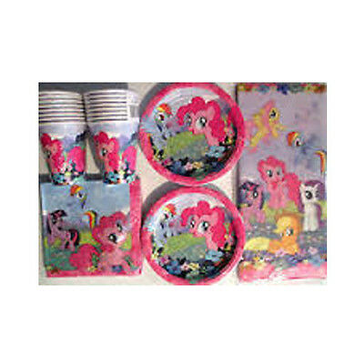 MY LITTLE PONY - Birthday Party Supply Kit Pack Set for 16 ()