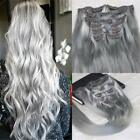 Silver Clip - In Hair Extensions