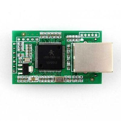 Dual Serial Com Rs232 Port Ttl To Ethernet Lan Converter Module Modbus Dhcp Web
