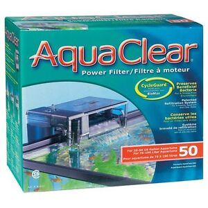 Hagen Aquaclear 50 Power Filter - For Tanks up to 50 gallon