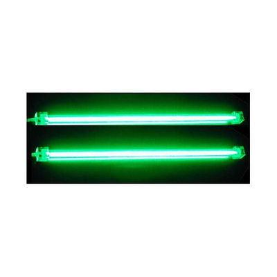 Dual 12' Cold Cathode Light - Logisys Dual Cold Cathode Fluorescent Lamp (Green) Computer Lights