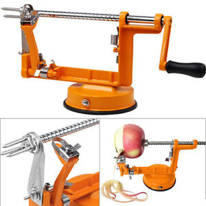 3 in 1 Apple Pear Potato Peeler Corer Slicer Safe Fruit Coring Kitchen Dicer New