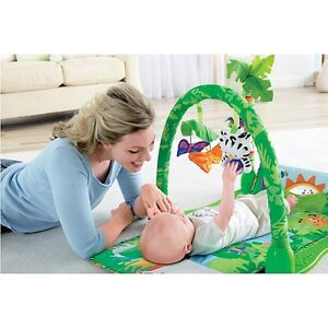 Fisher-Price - Portique Rainforest musical 1-2-3