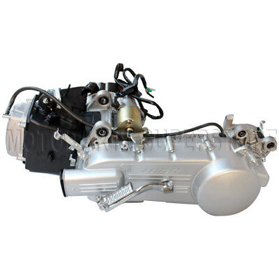 - Long Case 150CC GY6 Moped Scooter Engine Motor 150 CVT Auto Long Case 150CC GY6