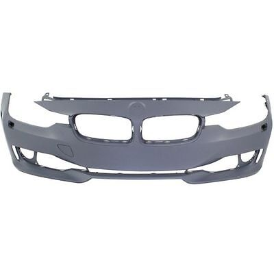 2012-2015 BMW 3-series Front Bumper Cover, Primed, Standard