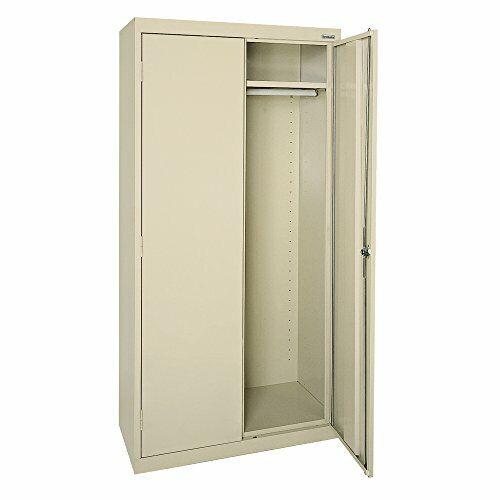 """Lee EAWR362478-07 Elite Series Wardrobe Storage Cabinet, 36"""" Width x 24"""" Putty"""