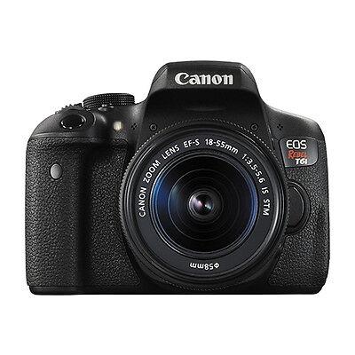 Canon Eos Rebel T6i Digital Slr Camera With 18 55Mm Ef S F 3 5 5 6 Is Stm Lens