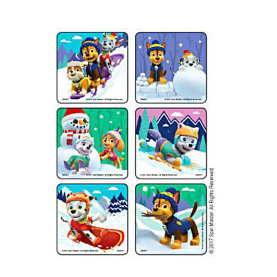 Best Birthday Party Favors (18 Paw Patrol Best in Snow STICKERS Party Favors Birthday Treat Loot)