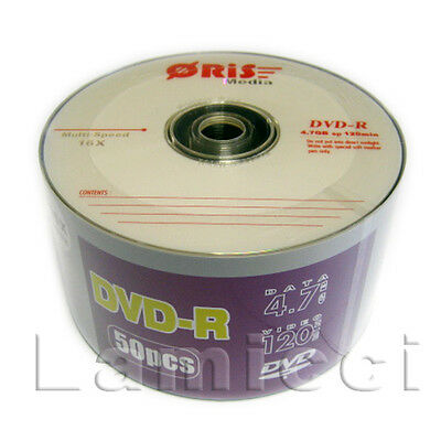 DVD-R 16x 120Min 4.7GB Logo Top Wholesale 600 pcs Blank Media for Duplication