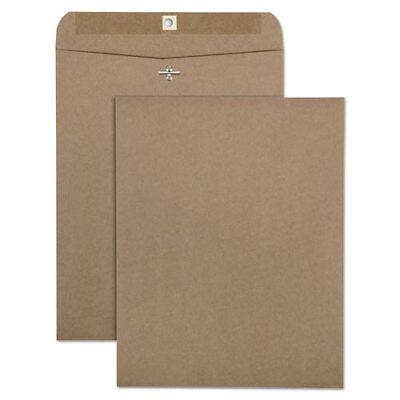 Kraft Recycled Box (100% Recycled Brown Kraft Clasp Envelope, 10 x 13, Brown Kraft, 100/Box )