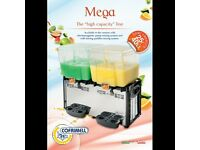 Mega 2M Cofrimell Italian Drink dispenser 2x25L-,,come fast-,,cash and collection-,,