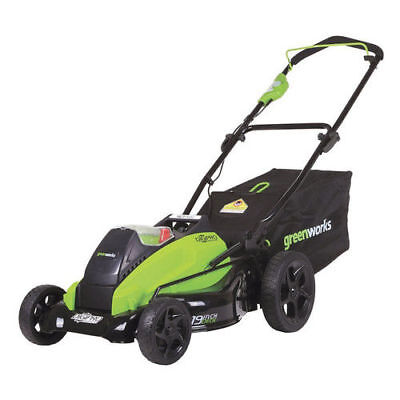"Greenworks 40V G-Max 4.0 Ah Li-Ion 19"" DigiPro Lawn Mower 2500502 New"