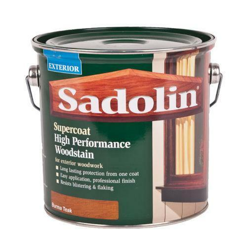 Teak wood stain paint varnish ebay - Sadolin exterior wood paint image ...