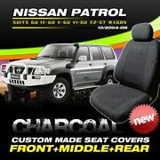 Nissan Patrol GU Seat Covers