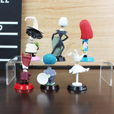 New Cake Topper Toy 6Pcs The Nightmare Before Christmas Jack Skellington Figure - $0.01