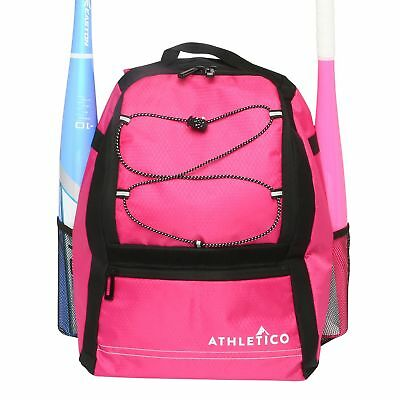 Cheap Baseball Bags (Athletico Youth Baseball Bat Bag - Backpack for Baseball, T-Ball & Softball)