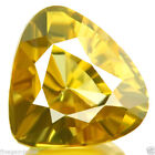 Pear Yellow Yellow Loose Zircons