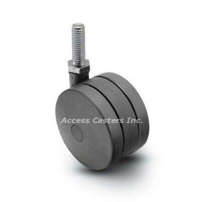 Ac-2295 125mm Twin Wheel Swivel Caster For 8020 2295 Nylon Wheel 180 Lb Cap
