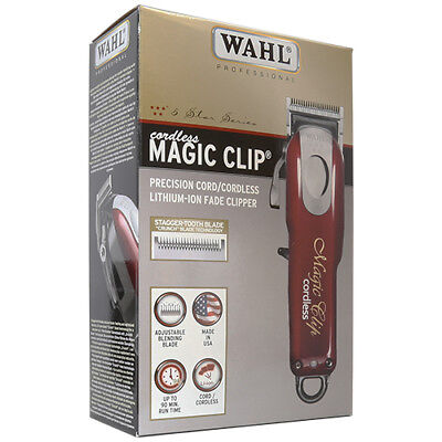 Wahl Professional 5-Star Cord/Cordless Magic Clip #8148 –
