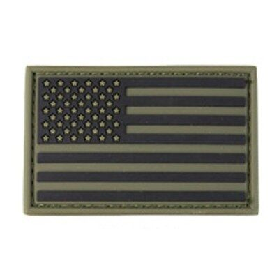 "Condor 221034 2"" x 3"" US United States American Flag Military PVC Patch OD Green"