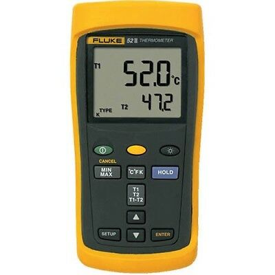 Fluke 52-2 Thermocouple Thermometer