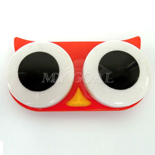 Cartoon-Big-Eye-Animal-Contact-Lens-Case-Box-Travel-Clean-Container-Soak-Storage