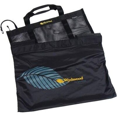 Wychwood Competition Bass Bag, Odour & Rot Resistant, ZipTop, Hang Cord, 8 Fish