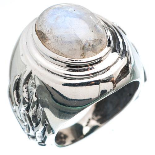 Mens Moonstone Ring Ebay