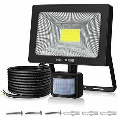 Security Lights with Motion Sensor, MEIKEE 50W LED Floodlights, (50.0)