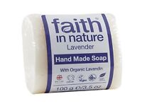 Faith in Nature Lavender Pure Hand Made Soap Bar 100g