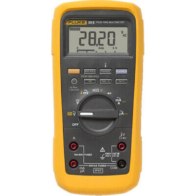 Fluke 28ii True-rms Rugged Ip 67 Industrial Digital Multimeter