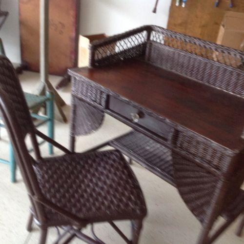 Heywood Wakefield Wicker Furniture Ebay