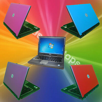 FAST CHEAP Windows 7 Dell Latitude D620 Laptop Warranty RED BLUE PINK WIRELESS