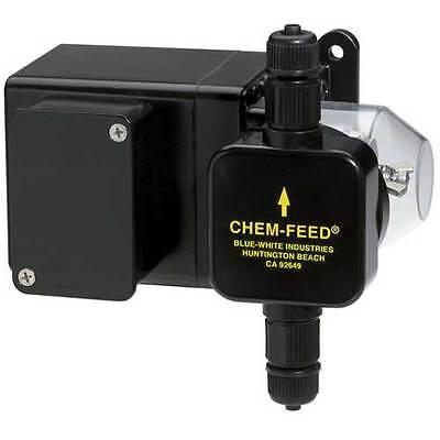 Blue-white C630p115vac Chemical Feed Pump 58gpd 2.4gph 30 Rpm 115 Vac New