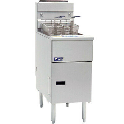Pitco Frialator Sg18 - Commercial Gas Fryer Solstice 70-90 Lb. Oil Capacity