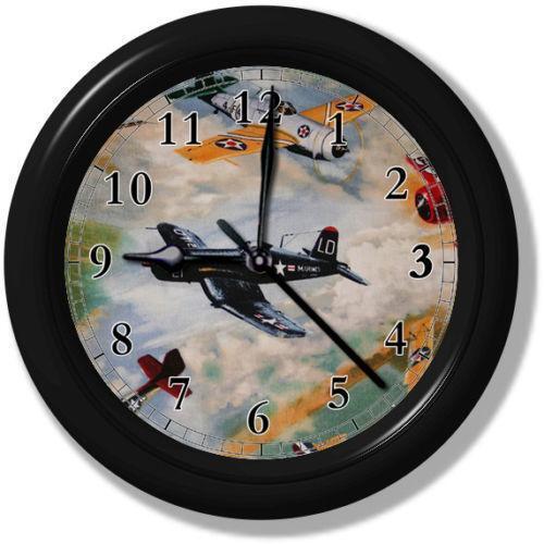 Airplane Clock Ebay