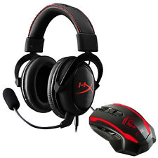 Kingston HyperX Cloud Core Pro Gaming Headset + MSI Super Wired Gaming Mouse 3 D
