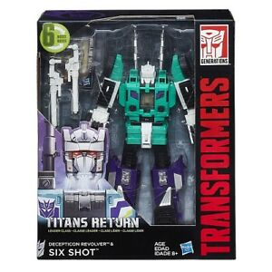 Transformers Generations Titans Return Six Shot