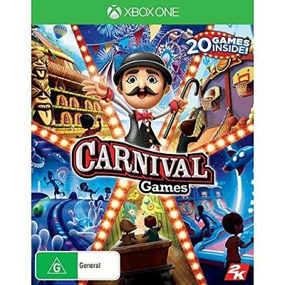 Carnival Games 20 Family Kids Fun Party Game Compilation Microsoft XBOX One XB1 ()