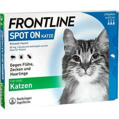 FRONTLINE Spot on K Lösung f.Katzen 3 St PZN 662907