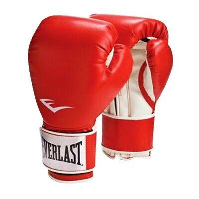 Everlast Pro Style Training Gloves 14 Oz Red 2114