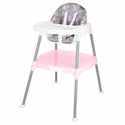 4-in-1 Eat & Grow Convertible High Chair, Poppy, Pack of 1