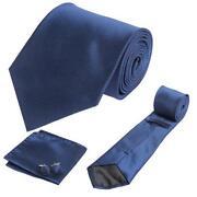 Mens Blue Silk Ties