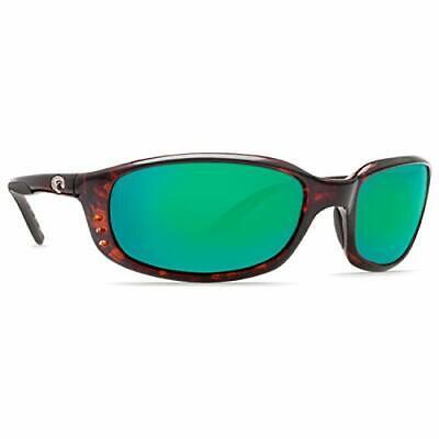 Costa Brine Readers Tortoise Green Lens Men's Sunglasses BR10OGMP250**Open Box**